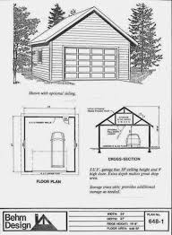 54 roof garage plans 24x24 garage plan salt box roof 24x24 garage