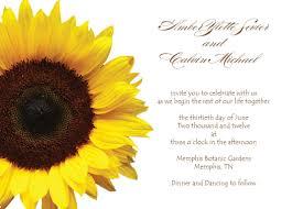 sunflower wedding invitations u2013 gangcraft net