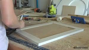how to clean corners of cabinet doors how to make diy cabinet doors without fancy router bits