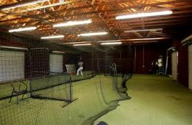 Basement Batting Cage by Facilities Pearl River Community College