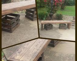 long wood bench etsy