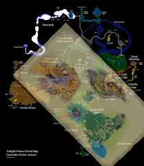 Twilight Princess Map 3 Theories About The Temple Of Time U0027s Location Theorizing
