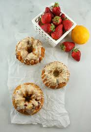 authentic suburban gourmet mini meyer lemon and strawberry bundt