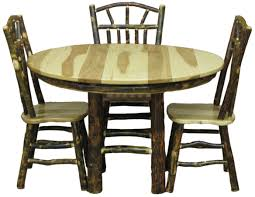 Hickory Dining Room Chairs by Dining Sets Kitchen Sets Dining Room Furniture Log Cabin