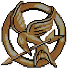 roblox pixel art mockingjay pin by lawlaw06 on deviantart
