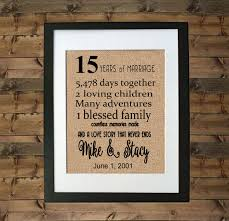 15th wedding anniversary gifts wedding gift awesome 15th wedding anniversary gift ideas for men