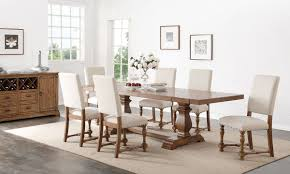 7 piece country chic dining set haynes furniture virginia u0027s