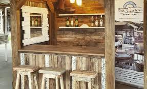 diy backyard bar shed all 4 women