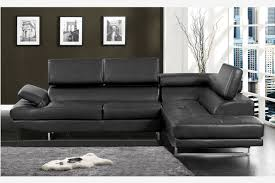 Contemporary Black Leather Sofa Inspiration Idea Black Leather Contemporary Sofa With Modern Black