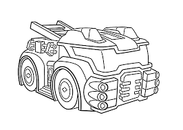 heatwave the fire bot coloring pages for kids printable free