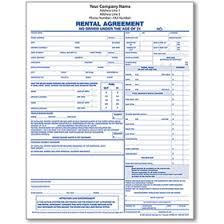 automotive vehicle rental agreements u0026 vehicle rental forms for
