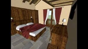 Bedroom Design Drawing 3d Drawing With Sketchup Interior Design In Cogne Ao Room 31