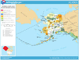 Map Of Alaska And Usa by Map Of Alaska Map Federal Lands And Indian Reservations