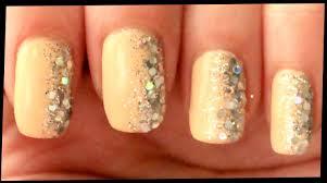 silver glitter on nail art youtube