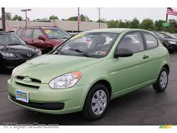 3 door hyundai accent 2009 hyundai accent gs 3 door in apple green 134513