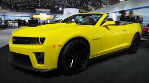 yellow camaro zl1 2014 chevrolet camaro zl1 convertible 1 4 mile trap speeds 0 60