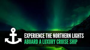 scandinavian cruise northern lights experience the northern lights aboard a luxury cruise ship cruise