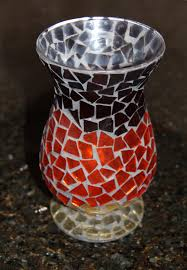 Mosiac Vase Life Shows Us How To Make A Beautiful Mosaic Vase Marcie Lyons