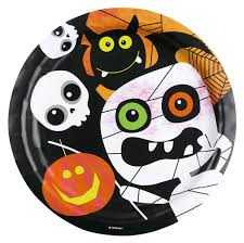 halloween cups and plates childrens halloween party tableware friendly mummy pumpkin plates