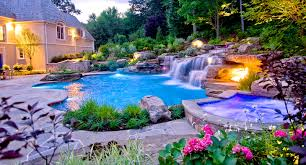 adirondack style natural pool nj cipriano landscape design and