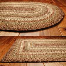 Small Round Braided Rugs Braided Area Rugs And Coir Doormats For Country Style Home Decor