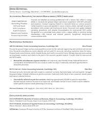 Sample Resume Of Cpa by Attractive Inspiration Ideas Accounting Resume Samples 3