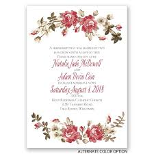 Beautiful Invitation Card Floral Beauty Invitation Invitations By Dawn