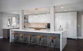 contemporary kitchen sleek contemporary kitchen remodel steve u0027s cabinetry blog