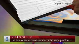 velux blinds repair youtube