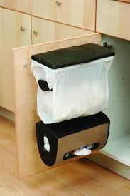 simplehuman in cabinet trash can amazon com simplehuman cabinet mount grocery bag can with bag