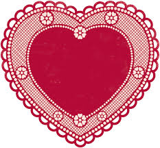 heart doily memories je t adore collection 12 x 12 die cut