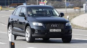 Audi Q5 2013 - 2013 audi q5 facelift spied with minimal disguise