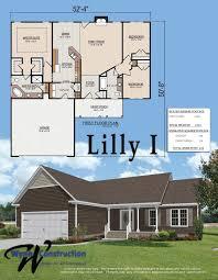 carolina plantations floorplans standard features and plat maps floorplans and standard features of homes by wynn