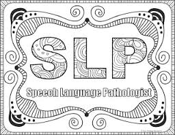 ot pt and slp coloring pages your therapy source www