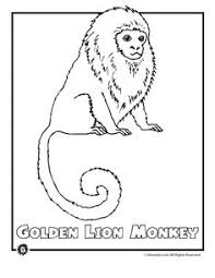monkey coloring pages to print monkey monkey hanging on a