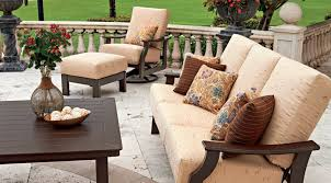 chic outdoor patio seating patio furniture ambler fireplace patio