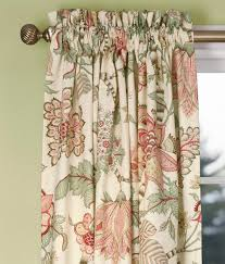 floral lined curtains and floral draperies country curtains