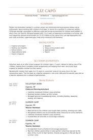 Resume Volunteer Experience Sample by Download Volunteer Work Resume Samples Haadyaooverbayresort Com