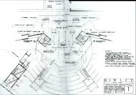 ground plan hamlet dave nofsinger scenic designer