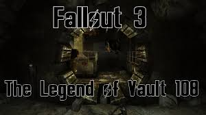 Map Of Fallout 3 by Fallout 3 The Legend Of Vault 108 Youtube