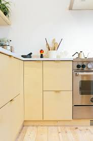 Birch Plywood Cabinets Plykea In London Stylish Plywood Cabinet Fronts And Worktops For