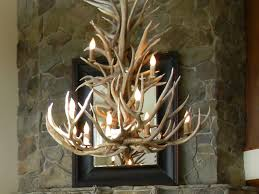 Antler Chandeliers For Sale Chandelier Rustic Living Room Design With Wonderful