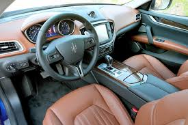 maserati ghibli interior maserati ghibli on stage in los angeles at the start of the