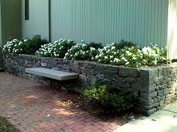 Front Yard Retaining Walls Landscaping Ideas - triyae com u003d landscaping ideas for backyard with retaining wall