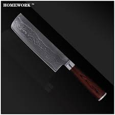 Kitchen Knives On Sale Damascus Knives 7 Inch Chopper Knife 71 Layers Of Japanese