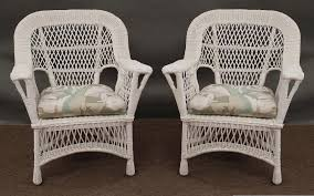white wicker chair silo christmas tree farm
