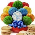 Cookie Arrangements Thank You Cookie Bouquet Gourmet Cookie Bouquets