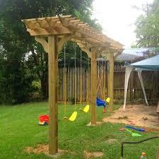 Backyard Swing Ideas Backyard Swing Plans Swing Ideas Diy Outdoor Swing Plans