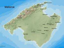Majorca Spain Map Mallorc Spain