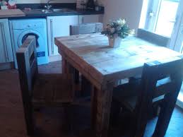 handmade dining room tables chunky solid wood handmade dining table garden table and four